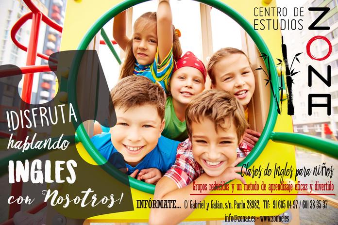 INGLES PARA NIÑOS: Cursos de Centro de estudios Zona