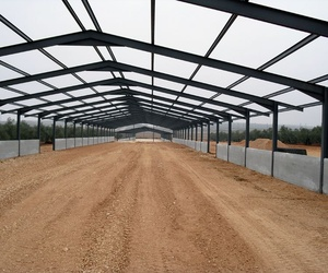 Construcción de naves en Andalucía