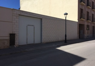 Solar cerrado Pablo Iglesias