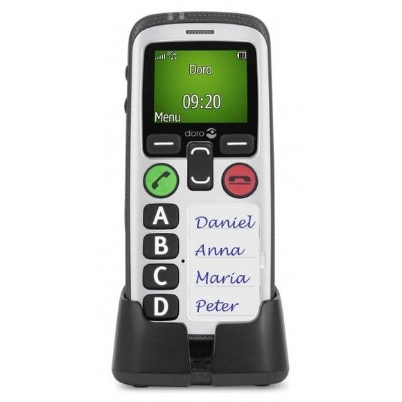 Teléfono móvil para mayores con localización GPS Asturias