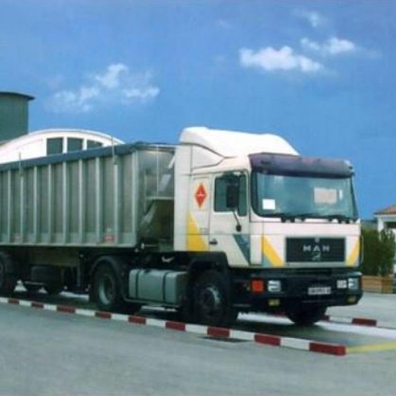 Báscula para camiones soterrada: Servicios de Pesajes La Mancha | Básculas Industriales