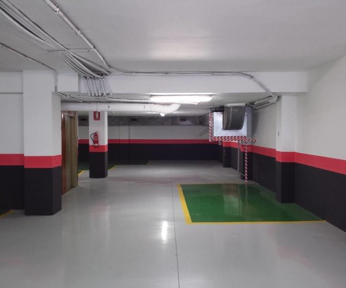 pintar garaje Las Palmas