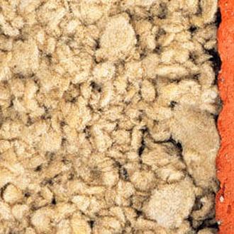 Insuflado de lana mineral Rockwool para aislamiento.