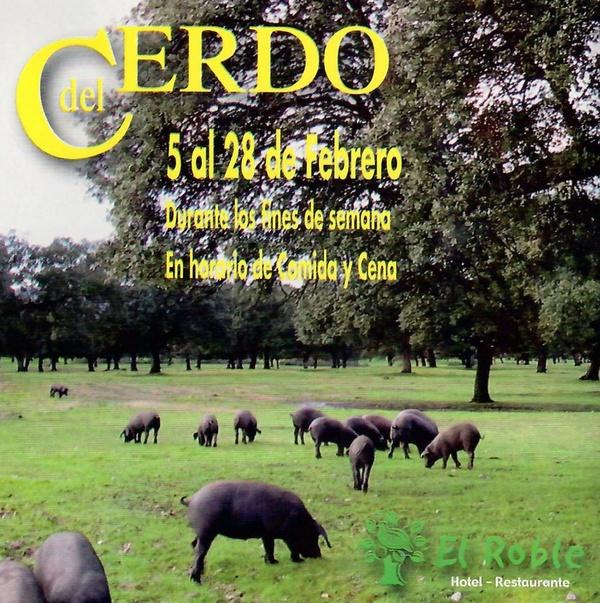 Jornadas gastronómicas de la matanza del cerdo: Hotel y Restaurante de Hotel Restaurante Rural El Roble