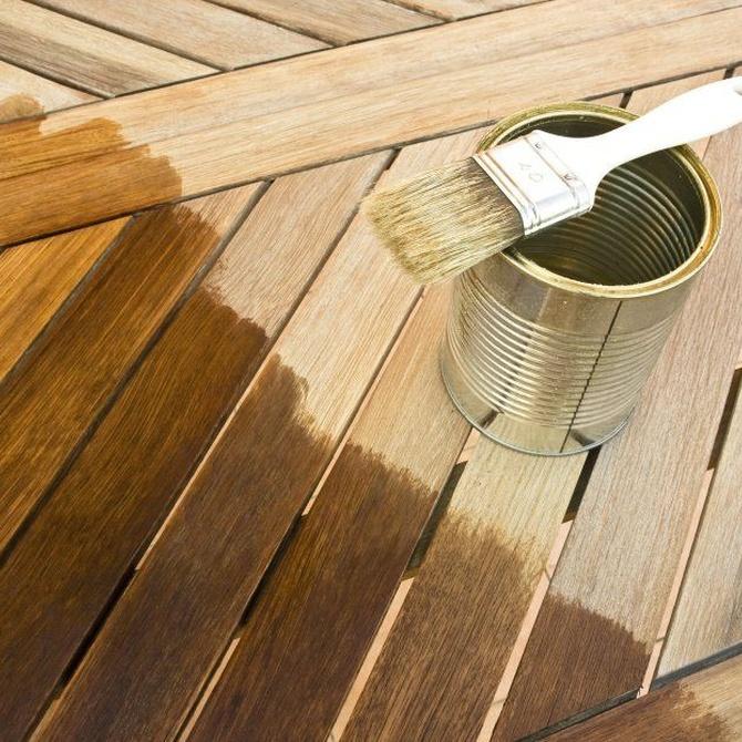 Tipos de barnices para la madera