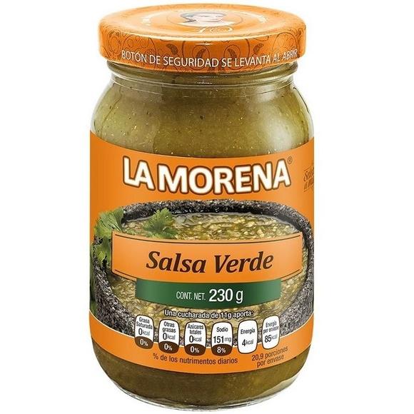 Salsa verde La Morena : PRODUCTOS de La Cabaña 5 continentes