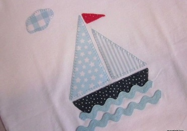 Camiseta velero