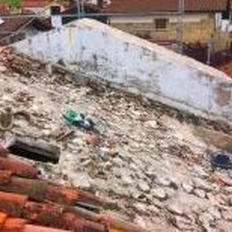 Reforma de tejados y cubiertas en Santander-Torrelavega.