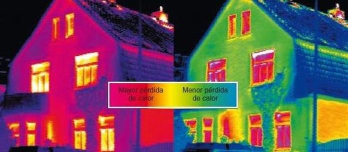Sistema de aislamiento térmico RHONATHERM en tienda de pinturas en pueblo nuevo.