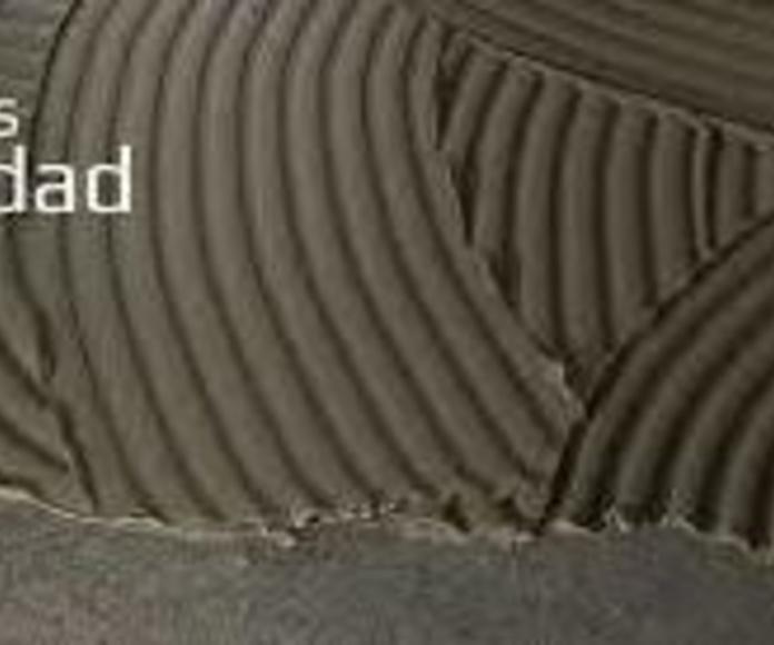 Morteros: Materiales de construcción de F. Campanero Materiales Construcción, S.L.