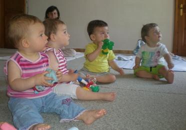 Música per pares i Nadons de 3 mesos a 2 anys