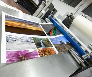 Impressió de gran format per a cartelleria