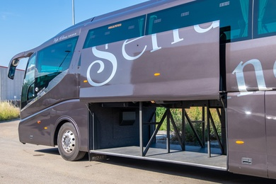 Servicio de autocares para viaje de estudios en Barcelona