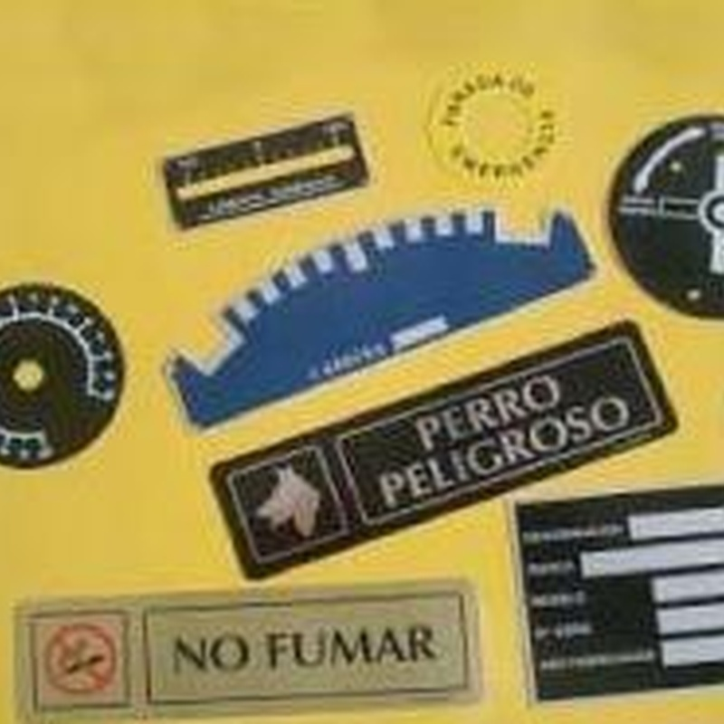 Placas de todo tipo: Catálogo de Grabados Dalima, S.L.