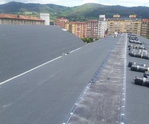 Impermeabilización cubiertas parque móvil del Estado (Oviedo)