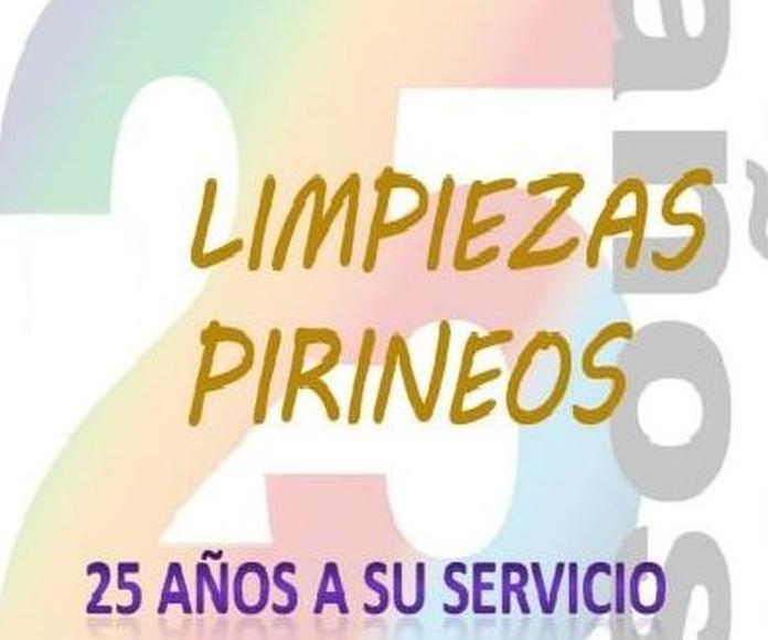 Limpiezas Pirineos: Servicios que realizamos de Limpiezas Pirineos. Tel 617 32 76 52