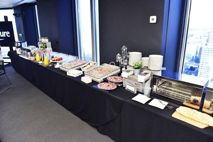 Desayuno Antiox Catering Domenico para empresas en Madrid