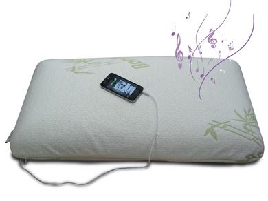 Colchones y somieres en EV Colchonerías: almohada Visco Music Mp3 a 39 €