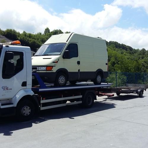 Asistencia en carretera en Gipuzkoa | Grúas Olalde