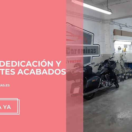 taller de chapa y pintura Hospitalet de Llobregat | Taller Corominas