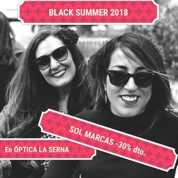 BLACK SUMMER EN GAFAS DE SOL DE MARCA: Óptica y audiología de ÓPTICA LA SERNA - CENTRO AUDITIVO