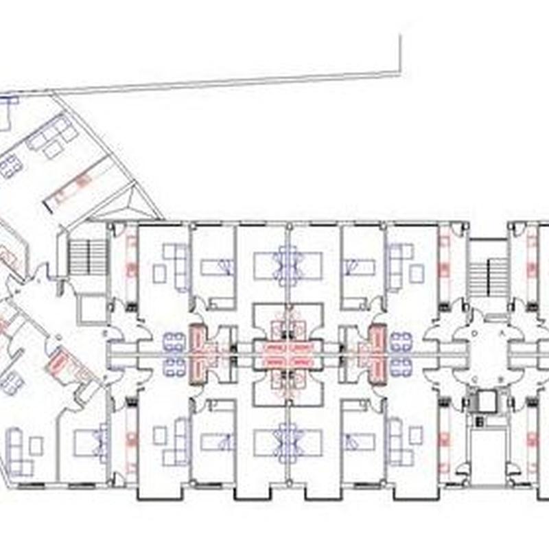 Proyecto básico para 37 viviendas en la parcela M29-1 Las suertes, Alovera, Guadalajara.  CERQUIA