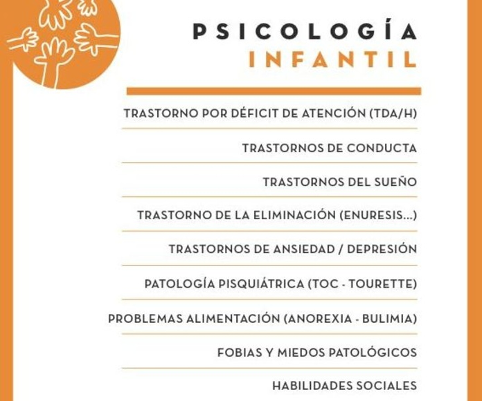 Psicología Clínica Infantil-Juvenil: Servicios de Centro GOA