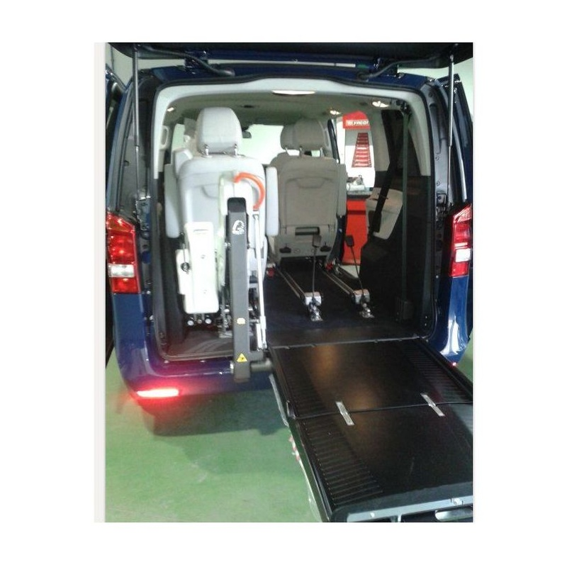 Mandos para la conducción y transporte de discapacitados: Servicios de Talleres Hergasa S.L.