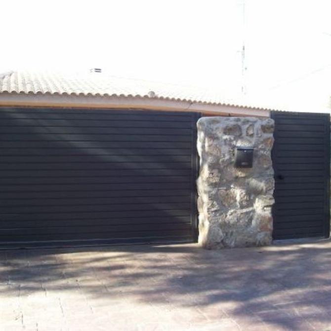 Automatizar una puerta de garaje