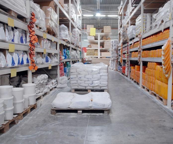 Almacén y logística: Servicios de Grupo Logística Jinama S.L.U