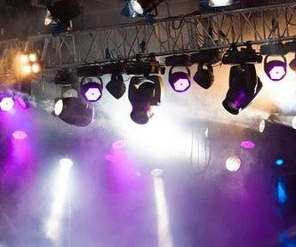 Venta de material de iluminación: Servicios de Óscar Molowny Sonido Iluminación
