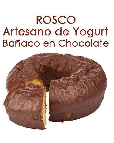 ROSCO DE YOGURT NATURAL BAÑADO EN CHOCOLATE: Productos y servicios de Pausa Proyectos y Distribución S.L.