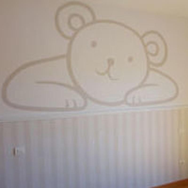 Papel pintado infantil en Madrid