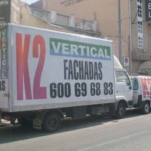 Façanes, Treballs verticals a Burjassot | K2 Vertical