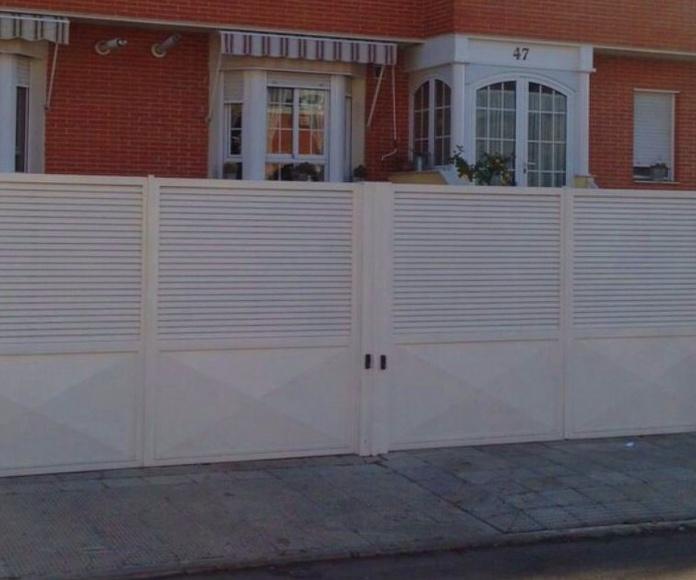 Puertas-estructuras: Productos y Servicios de Cerrajería Marchal
