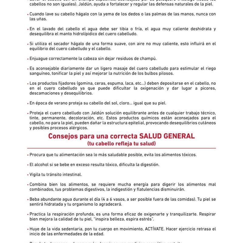 Tratamientos capilares Jaldún: Servicios de Esther Ruiz Peluquería &  Estética