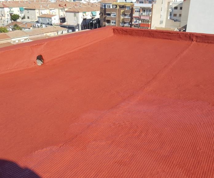 Impermeabilización de cubiertas, patios y medianeras: Servicios de Altiver