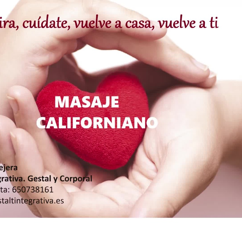 Masaje Californiano Madrid