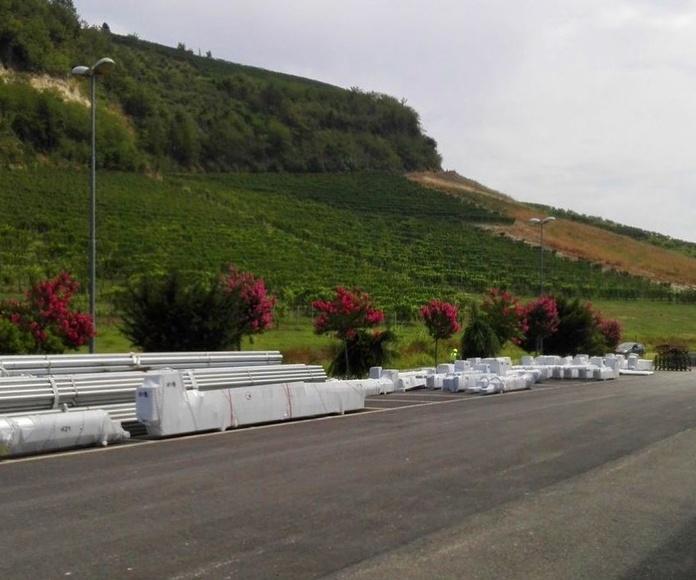 Giesse italia pedidos listos para transporte