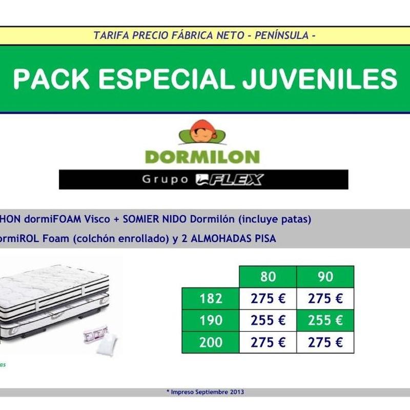 PACK ESPECIAL JUVENILES 1: Catálogo de Miluna Bilbao