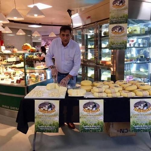 Distribuidora quesos Madrid Centro