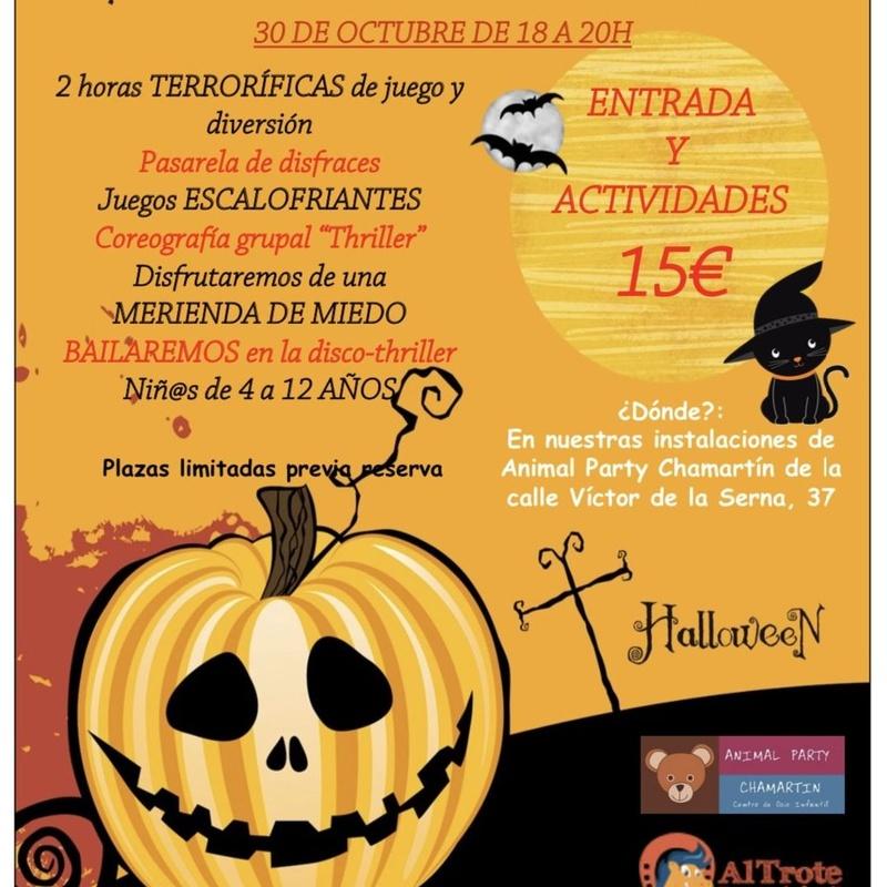 Fiesta de Halloween Al Trote