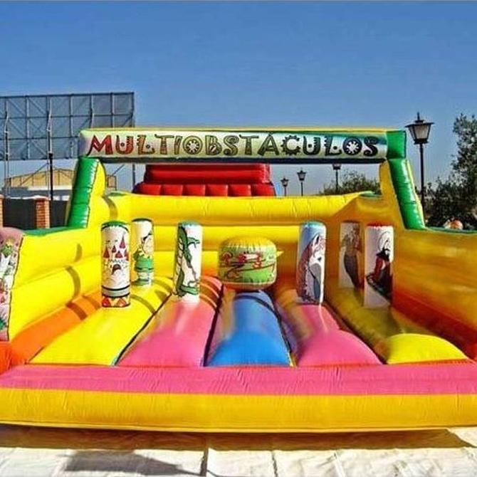 Castillos hinchables, la mejor opción para entretener a los niños en un evento