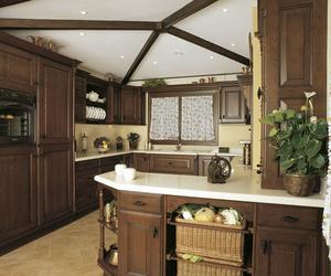 Muebles de cocina en madera estilo clásico modelo Colonial