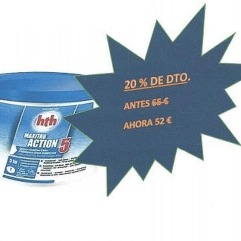 HTH Action 5: Productos y servicios de Piscinas Castilla - Construcción y Rehabilitación