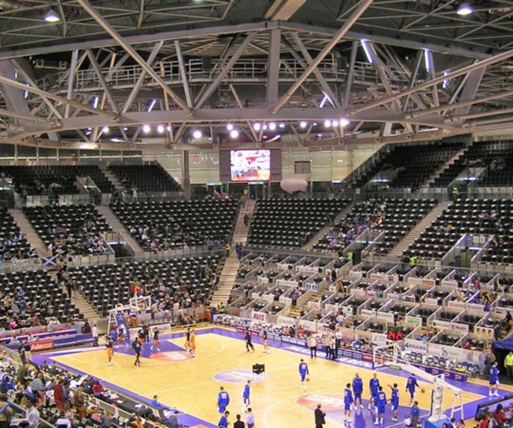 Las estructuras metálicas de los pabellones deportivos
