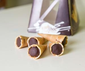Comprar barquillos rellenos de chocolate
