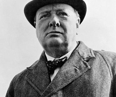 """SI ATRAVIESAS EL INFIERNO, NO TE DETENGAS, SIGUE CAMINANDO"". Winston Churchill."