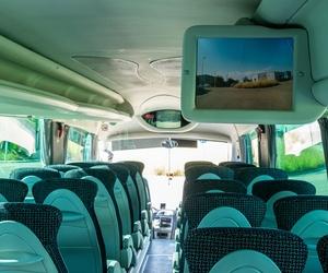 Autocares con televisión en Barcelona