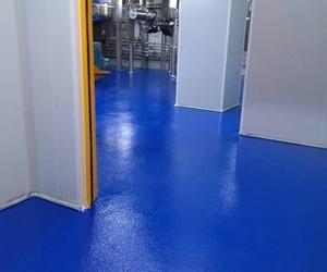 Pavimentos industriales continuos de resina